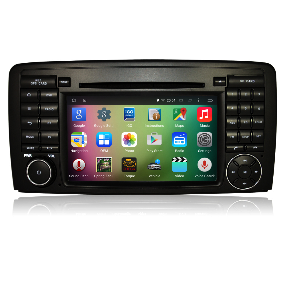 "OEM A9 Quad core Pure Android 5.1.1 HD 1024*600 16GB Mirror-Link 7"" Car <strong>DVD</strong> Player <strong>GPS</strong> Stereo Radio For ML CLASS <strong>W164</strong> ML300/ML35"