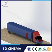 Low Investment High Profit 7D Truck Equipment 7D Animation Movies With Projector Shooting Games