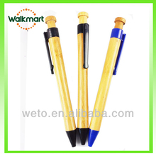 Bamboo paper eco recycled pen