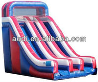 Inflatable Slide With Pool,Inflatable Wet/Dry Slide