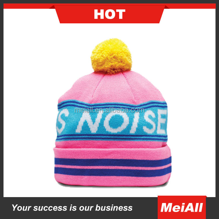 Fashion Acrylic Blank Custom sublimated beanie Women Mens Hats and Caps Winter Hat/ Knitted Beanie/ Knitted Hat