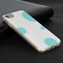 for iPhone 7 6S 6 Case, Hard PC Back cover TPU Clear Ultra Thin case IML craft for iPhone 7 6S 6
