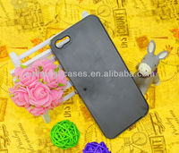 Best selling superior quality for iphone 5 groove plain Custom Logo printing plastic case