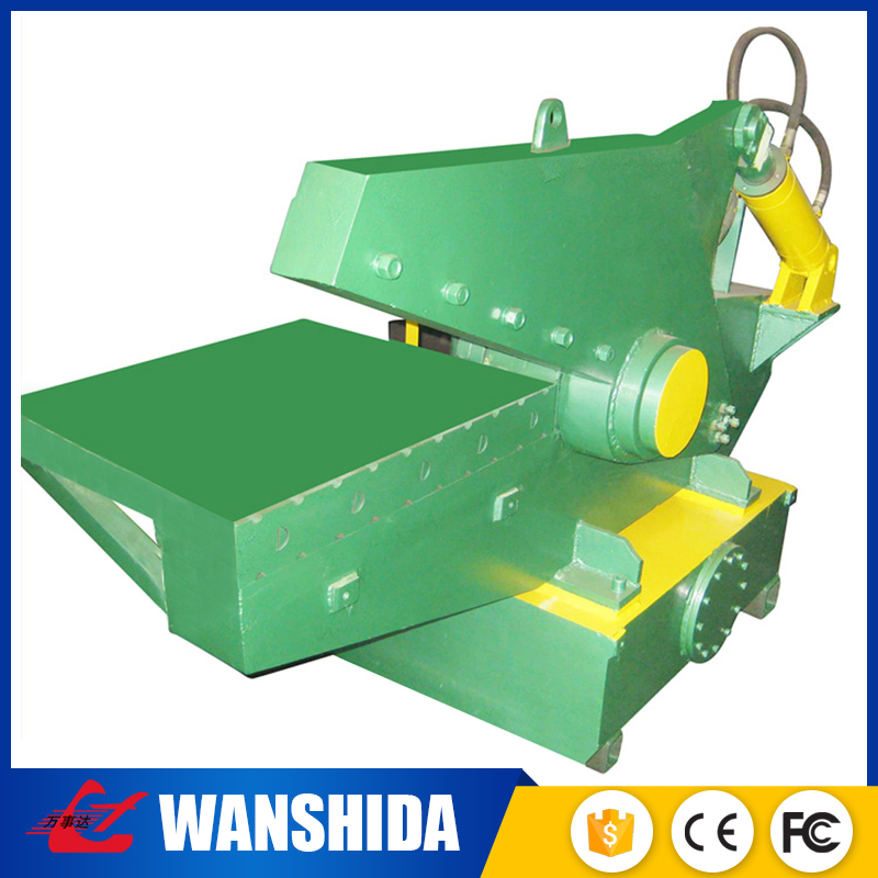 Supplier hydraulic hand Recycling steel scrap copper cable cutting press