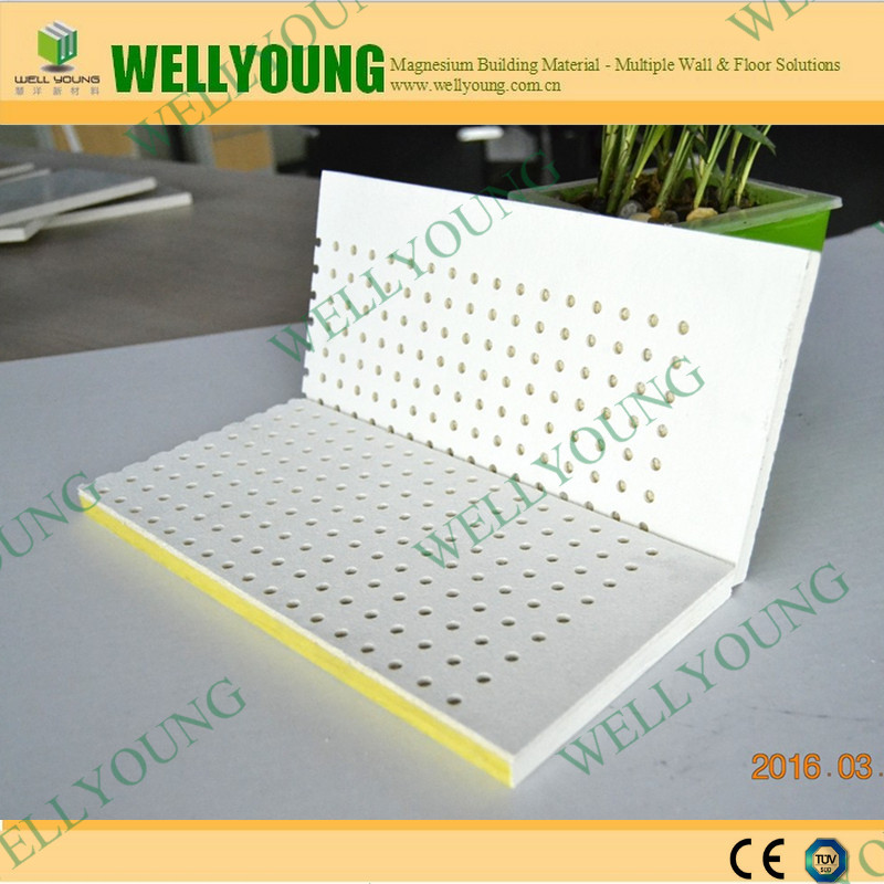 Fireproof And Sound Insulation Fiber Glass Wool Acoustic