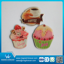 Promotional High Quality Costom 3D Epoxy/PVC/Tinplate/Acrylic Fridge Magnet for Refrigerator