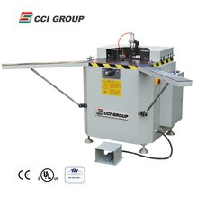 hydraulic single head corner combination crimping machine for making aluminum window and door with CE