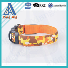 Colorful design light-up led glow pet collars