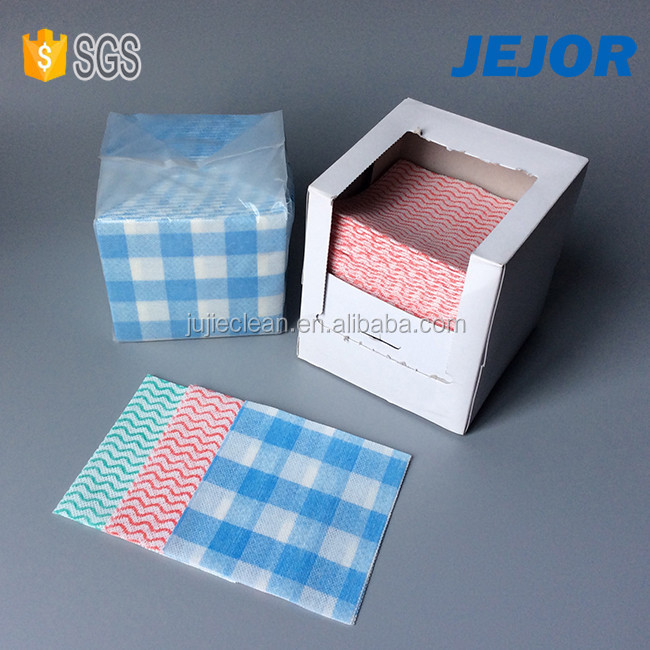 Disposable Spunlace Nonwoven Fabric Lint Free Dry Clean Wipe