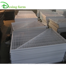 PVC coated free standing temporary fencing