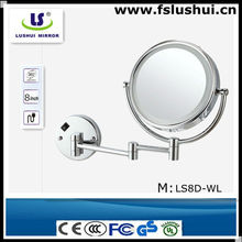 Hot-selling hotel 5x magnifcation magnifying mirror 7x
