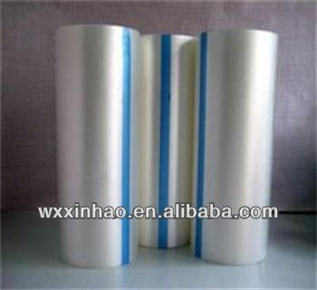 PE plastic film on roll for aluminum lamination
