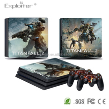 Best quality diy games vinyl sticker for ps4 pro console original sticker