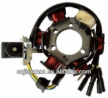 Magneto coil stator assy scooter/motorcycle spare parts for JH Jialing 3 holes 6 poles