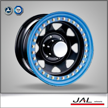 Custom Made Special Design Blue Car Rims 5jx14 Wheel Rim In China For Car