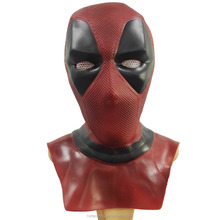 Halloween cosplay mask Marvel Avengers Infinity War movie mask latex Deadpool mask