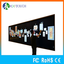 interactive touch video wall 100'' IR multi touch screen frame monitor