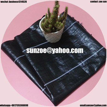 China manufacturer woven weed mat for grass prevention with high quality