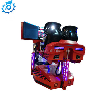 Coin operated game machine 40 inches LED HD screen racing game machine 4d simulator for sale