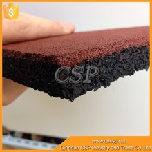 Best Quality rubber floor tiles for garden/children playground/paver
