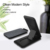 10W 7.5W 5W Ultrathin foldable smartphone qi wireless Fast charger sleep friendly charging For Sansung galaxy S7+ S8+ Note5