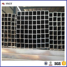 Q195 15*15 fencing Mild Carbon Square Welded Galvanized Steel Pipe / Tube Manufacturer for greenhouse