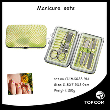 Manicure Pedicure and Beauty Grooming Kit - 6 Pcs - Ultimate Personal Care Set With Nail Scissors Nail Clippers - Pocket Size
