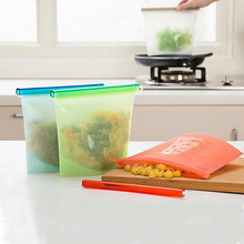 New Design Heat Resistant Silicone Food Storage Bag