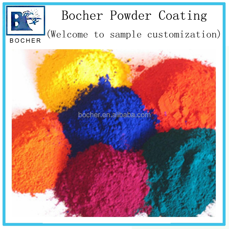 Epoxy polyester thermosetting ral color powder paint manufacturer