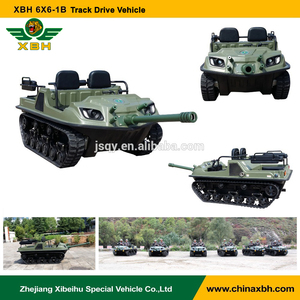XBH 6X6-1B Track Drive Vehicle 6 wheels anfibio atv gasoline climbing vehicle ATV