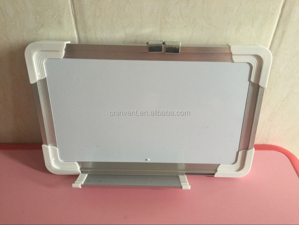 Magnetic Dry-Erase White Board With Aluminum Frame