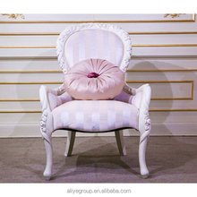 Popular rose gold luxury wood chair dining MF0556