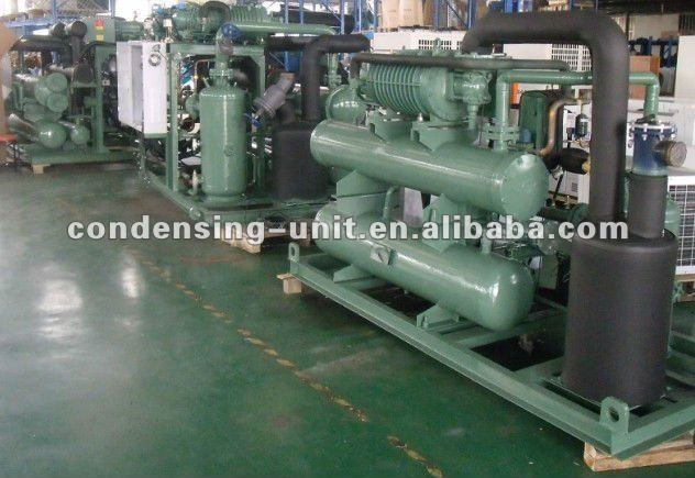 bitzer screw compressor condensing unit