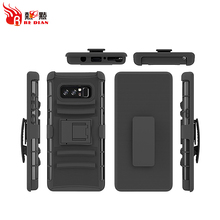 Redian Hybrid 3 in1 Heavy Duty Armor note 8 Kickstand Belt Clip Holster Combo Rugged Case for Samsung Galaxy note 8 s8