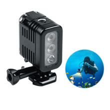 Facoty Supply High Quality Underwater 30M Go pro Diving Light for <strong>Gopros</strong>, Xiaomi Yi, SJ and Sports Cameras