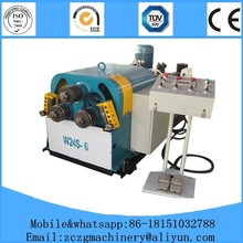W24S-6 Hydraulic Profile Bender,Metal Flat Bar Bending Rolling Machine in stock