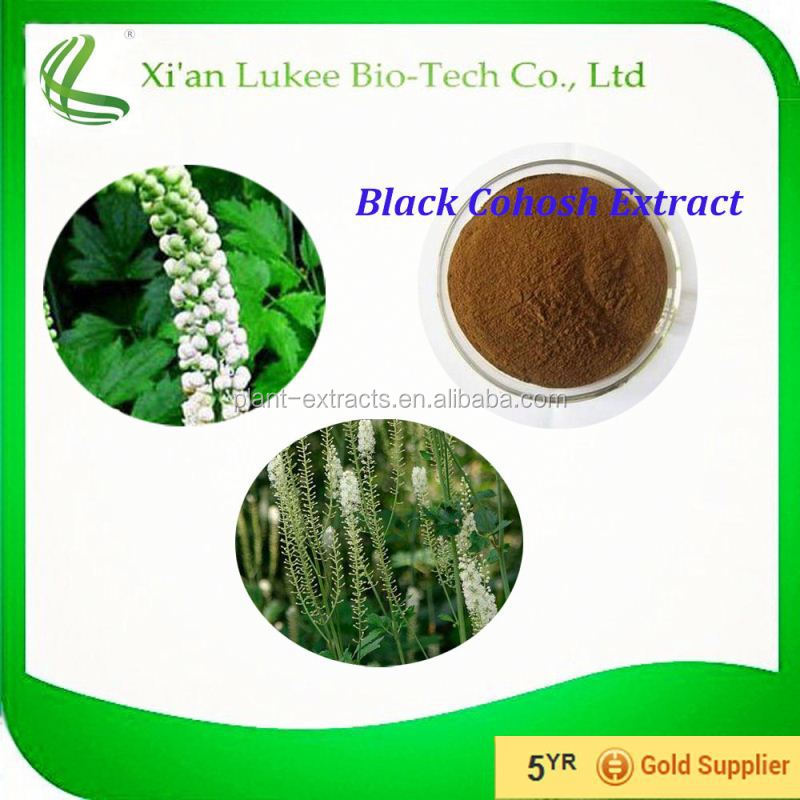 Cimicifuga Racemosa Extract Estrogenic Black Cohosh P.E. Powdered Black Cohosh Extract