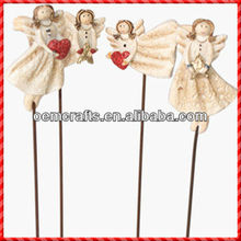 2013 high quality little angel of resin fairies figurines