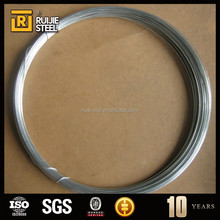 High Strength, Galvanized Steel Wire. gauge 13 BWG or 3.41mm, zinc level 18gr/m2 ISO Quality Certification.