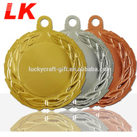 high quality cheap metal engraved blank sports medal for sales