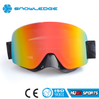 Fashion motorcycle helmet goggles interchange lens mx goggles with nose