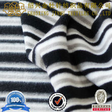 100 polyester anti static heart micro polar fleece fabric