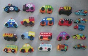 wholesale mini size car shape kids gift eraser