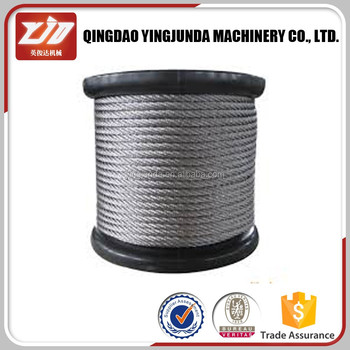 Rigging Hardware Steel Wire Rope 1.5mm Wire Rope 6*19