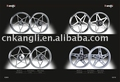 Alloy wheel rims for motorcycle