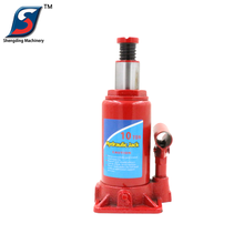 CE certificate 10 ton red manual screw high lift car hydraulic jack price