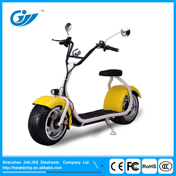 China wholesale Harley01 1000W citycoco electric motor scooter