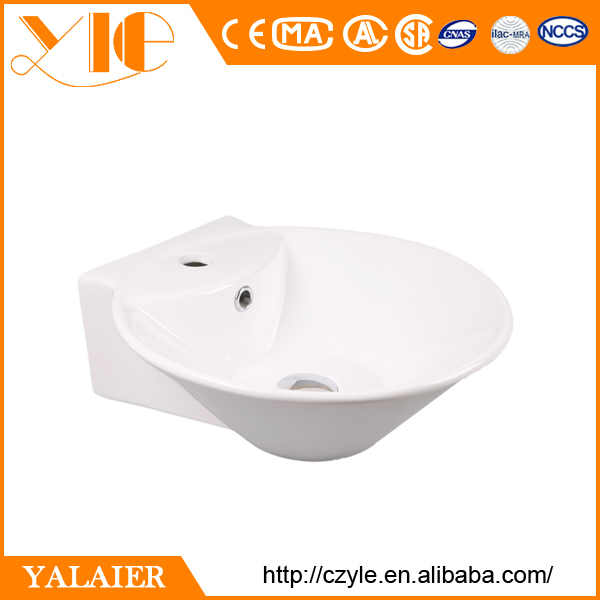 Ceramic counter top wash hand basin sizes