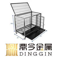 Small garden hollow tube dog cage
