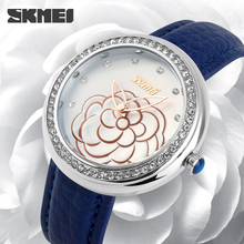SKMEI Brand hot selling New product elegant sexy ladies fashion watch